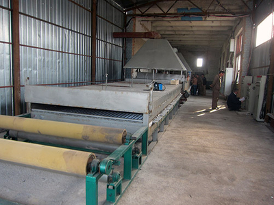 PVC Coating Line For Welded Wire Mesh In Rolls