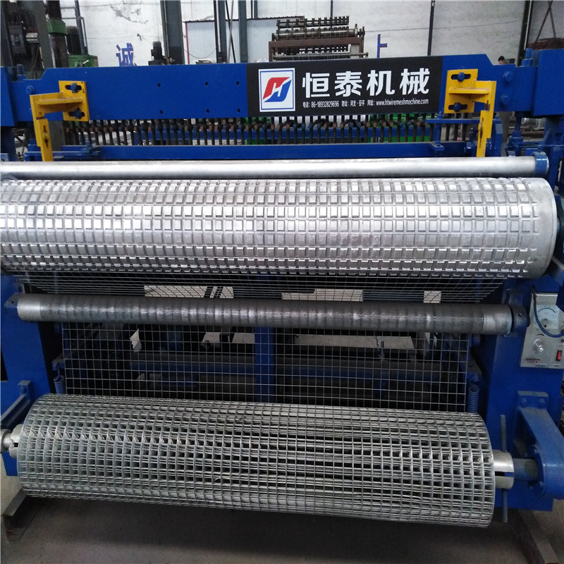 Fully Automatic Welded Wire Mesh Machine for Construction Building Wall Use